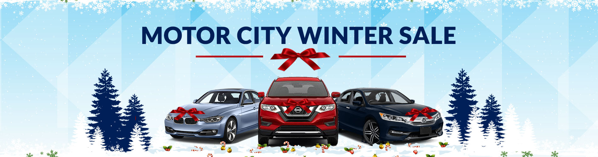 Motor City Winter Sale